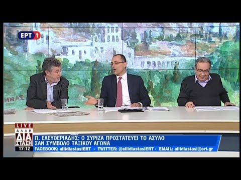 Debate πανεπιστημιακών υποψήφιων ευρωβουλευτών στην ΕΡΤ