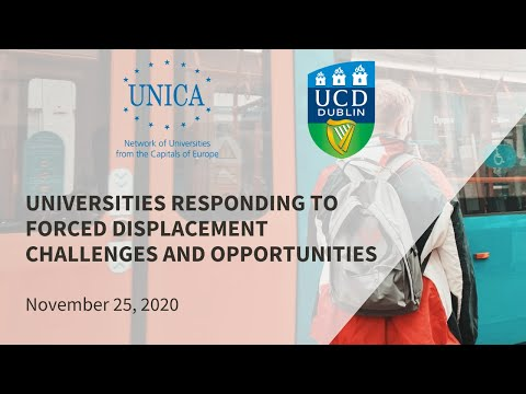 Universities responding to forced displacement: Challenges & Opportunities