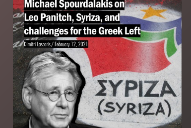 Michael Spourdalakis on Leo Panitch, Syriza, and challenges for the Greek Left
